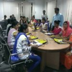 PMKVY Training at Relaxo , Jhajjar