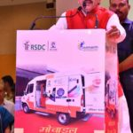 Launch of Mobile Van at Varanasi